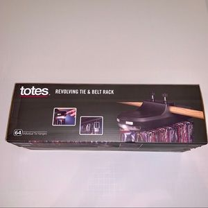 Totes Revolving Tie And Belt Rack